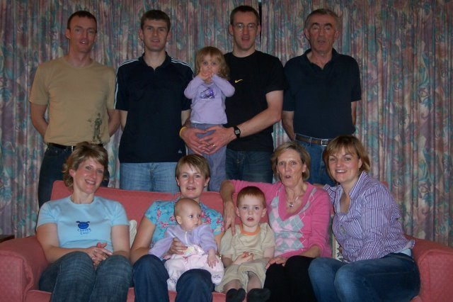 Iain, Anne and all the family